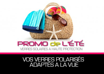 OGO OPTIC PROMOTION DE L'ÉTÉ